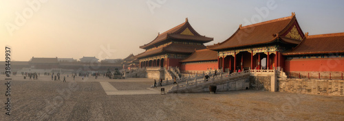 Photo Stands Beijing Forbidden City - Beijing / Peking - China