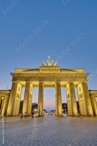 Keuken foto achterwand Berlijn The Brandenburger Tor at Berlin, Germany