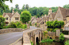 Old Houses In Castle Combe, En...