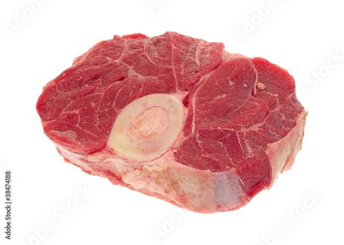 Fotografie, Obraz  Beef hind shank steak