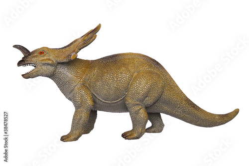 Fotografie, Tablou  Dinosaur Styracosaurus