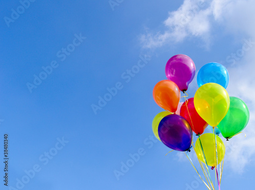 Fotografie, Obraz  Balloons
