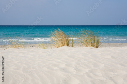 Foto-Leinwand - Spiaggia (von Pixelshop)