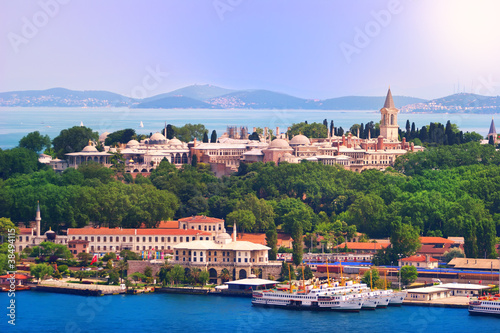 Carta da parati Topkapi Palast, Istanbul, Türkei