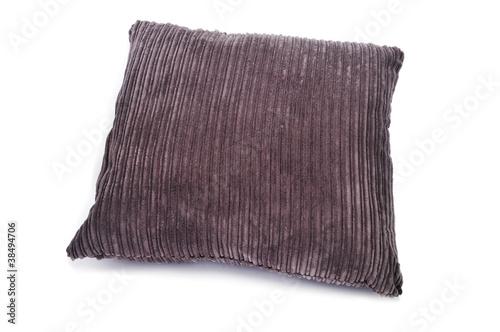 Photo  brown corduroy cushion
