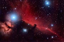Horsehead Nebula And Flaming T...