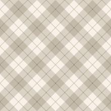 Abstract Scottish Diagonal Pla...