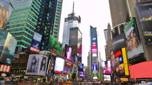 Times Square In New York City ...