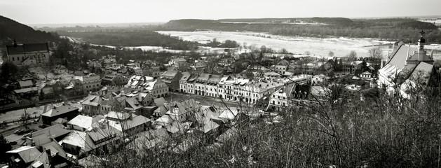 Obraz na SzklePanorama of Kazimierz Dolny