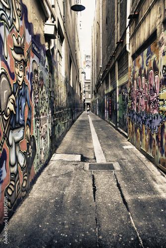 Architecture Detail of Melbourne, Australia © jovannig