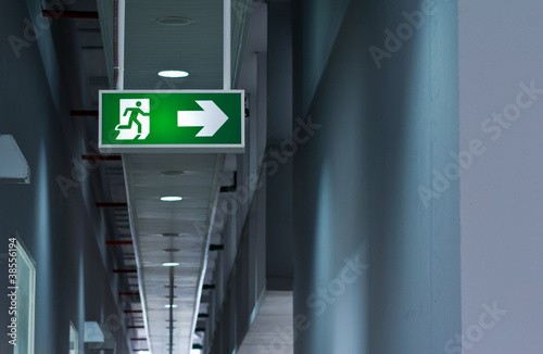 Stampa su Tela Fire exit