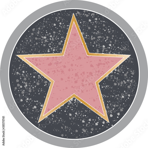 Fotomural Hollywood Star