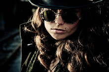 Mystery Woman In Sunglasses