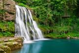 Waterfall in nature - 38584187