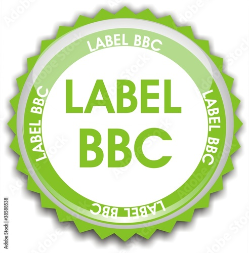 Photo  bouton label BBC