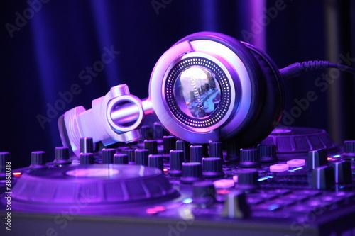 Fotografie, Obraz  Digital DJing