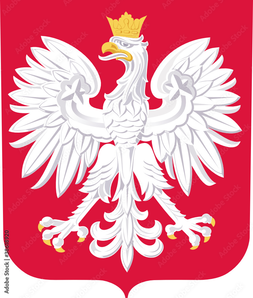 Fototapeta Coat of arms of Poland