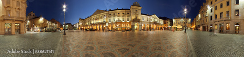 Photo Aosta, Piazza Chanoux a 360 gradi