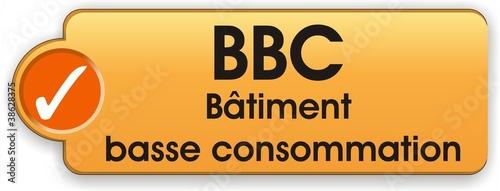 Photo bouton label BBC