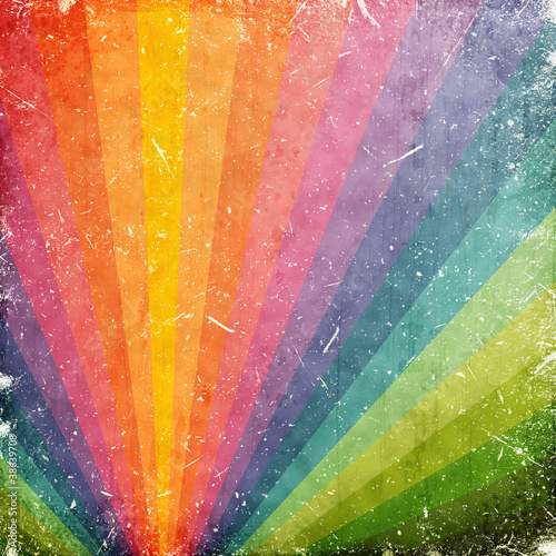 Obraz grunge rays background - fototapety do salonu