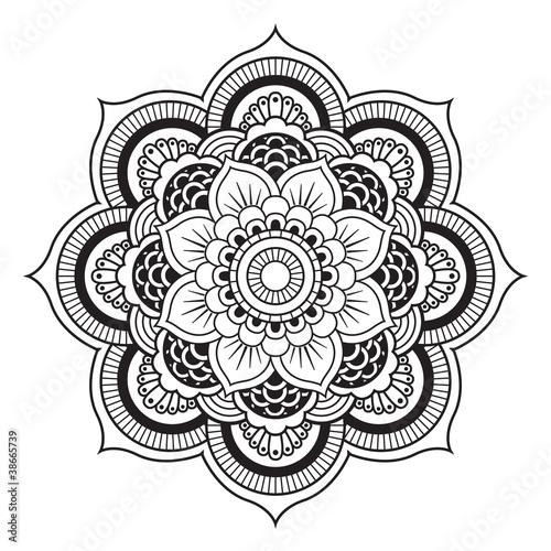 Mandala Okrągły ornament