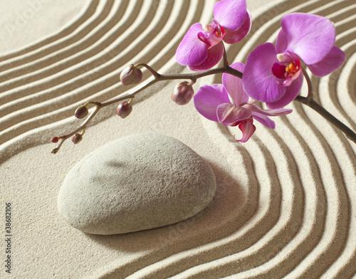 Foto op Plexiglas Stenen in het Zand harmony peace relaxation