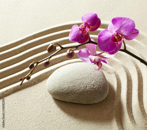Foto op Plexiglas Stenen in het Zand wellness sensuality zen