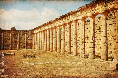 Il Ginnasio greco di Cirene - Libia