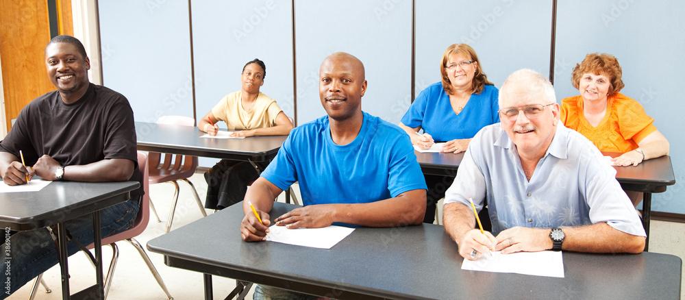Fototapeta Diversity in Adult Education - Banner