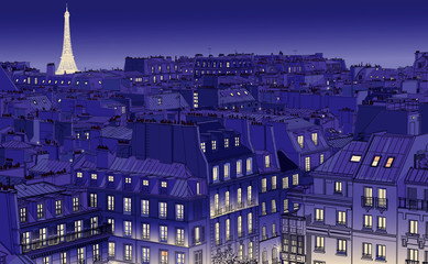 roofs in Paris