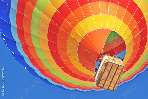 Tuinposter Ballon hot air ballon