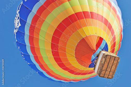 In de dag Ballon Hot air ballon