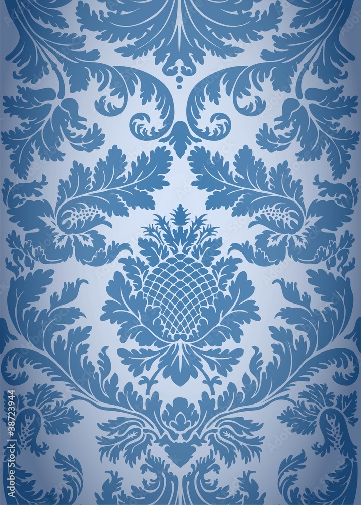 Historical wallpaper pattern