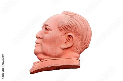Valokuva Stone sculpture of Mao Zedong