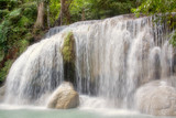 Small beautiful waterfall in Thailand