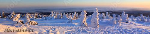 Fototapeta zima panoramiczny-widok-z-brocken