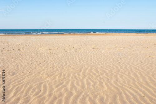 Beach sand Wallpaper Mural