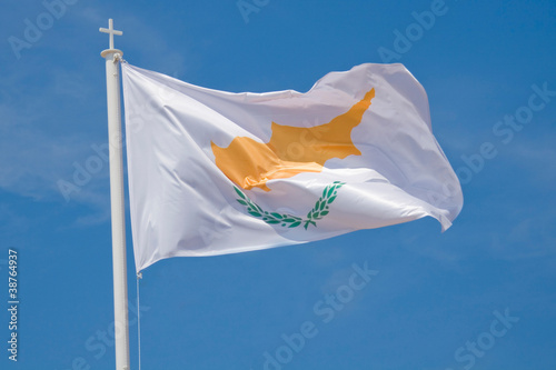 Photo sur Aluminium Chypre Cyprus flag