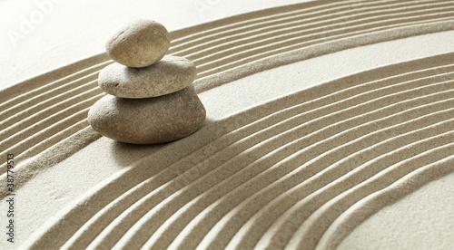 Photo sur Plexiglas Zen pierres a sable zen yoga buddhism