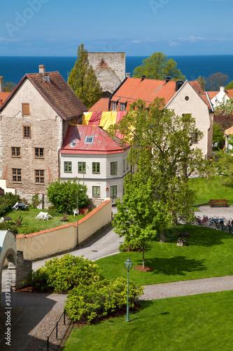 Fotografía  Visby city at Gotland, Sweden