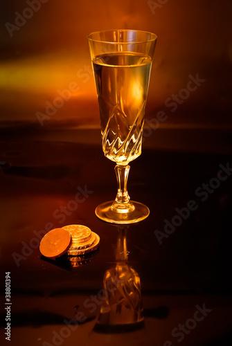 Fototapeta Wine and Chocolate obraz na płótnie
