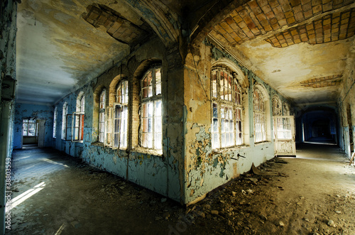 Photo Stands Old Hospital Beelitz Corners