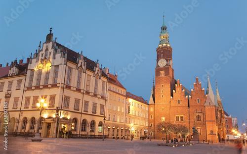 Fototapeta Wrocławski ratusz obraz