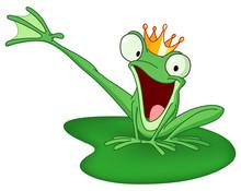 Happy Frog Prince
