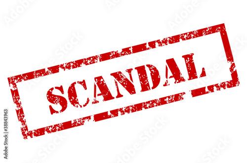 Fotografía  Scandal stamp