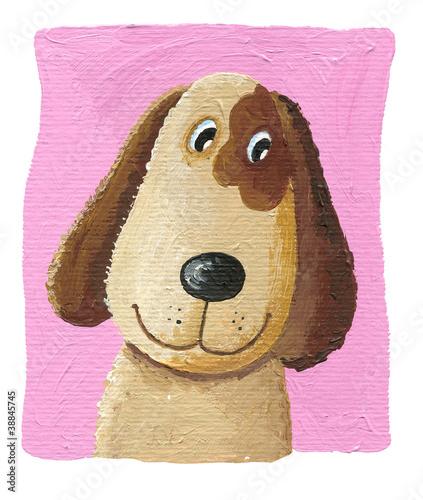 sliczny-pies-na-rozowym-tle