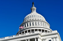 Washington DC Capitol Hill Building Dome