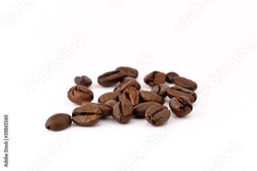 Staande foto Koffiebonen chicchi di caffè