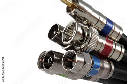 Fotomural Coaxial Cable Connectors