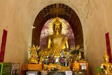 Buddha Statue In Chedi, Wat Ch...